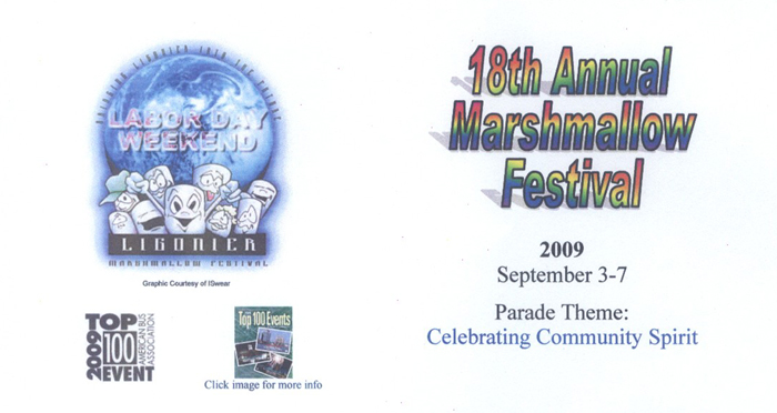 Image For 18th Annual Marshmallow Festival Car Show - 2009