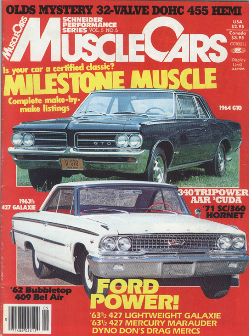 Image For Muscle Cars -