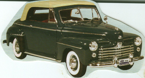 Image For 1948 Ford Super Deluxe Convertible