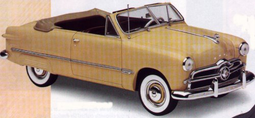 Image For 1949 Ford Convertible