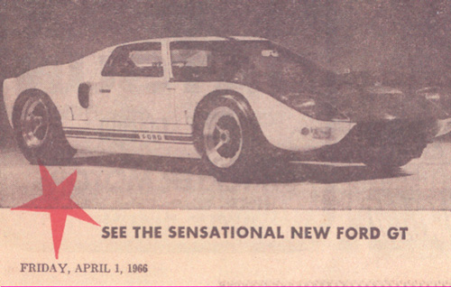 Image For 1966 Ford GT 40