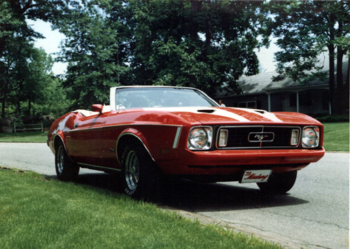 Image For 1973 Ford Mustang