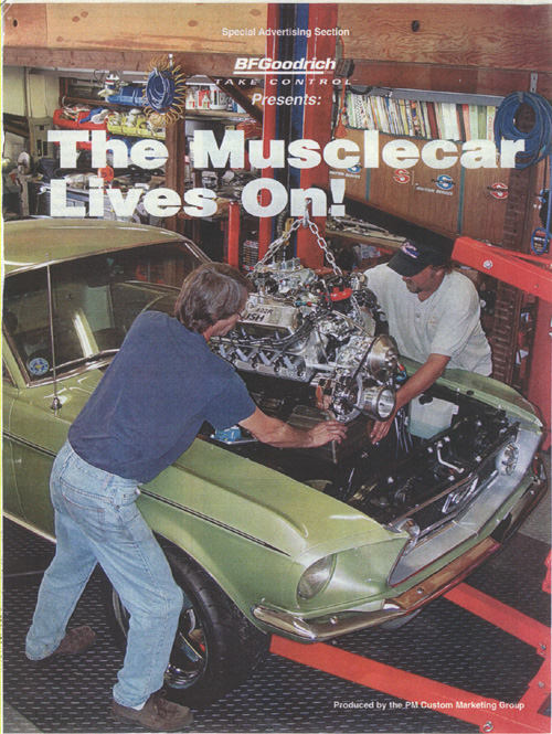 Image For The Musclecar Lives On