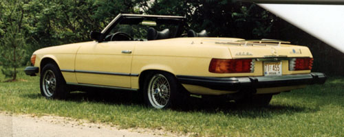 Image For 1977 450SL Mercedes